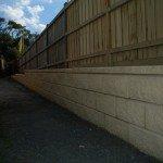Settlers Run Retaining wall