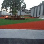 Frankston Heights primary Synthetic grass, commercial